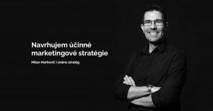 Online stratég Milan Markovič