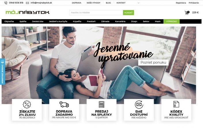 Home page mojnabytok.sk